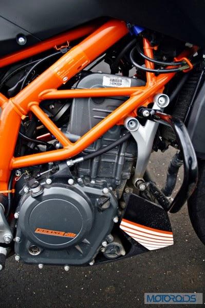 KTM 390 Duke India road test review 75