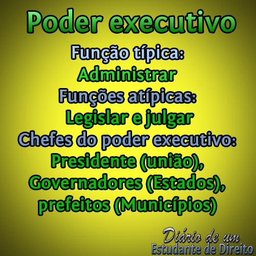 Poder executivo by @DiarioJurista