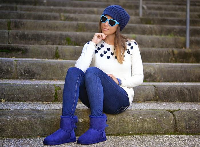 outfit blu bianco fashionblogger