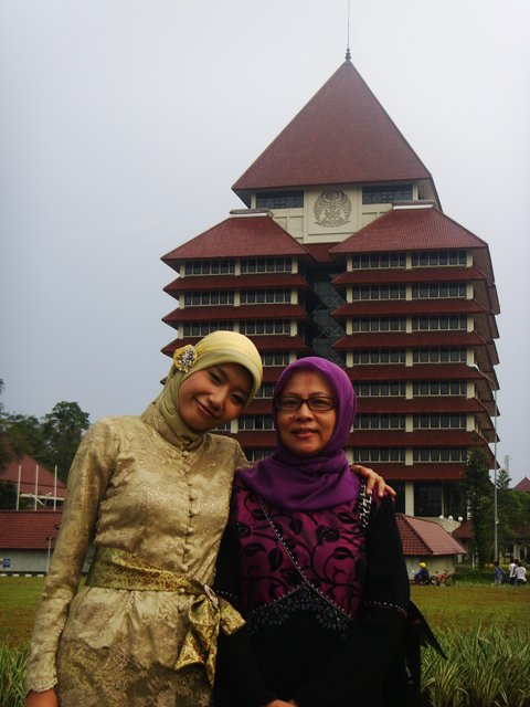With my Mother... :-*