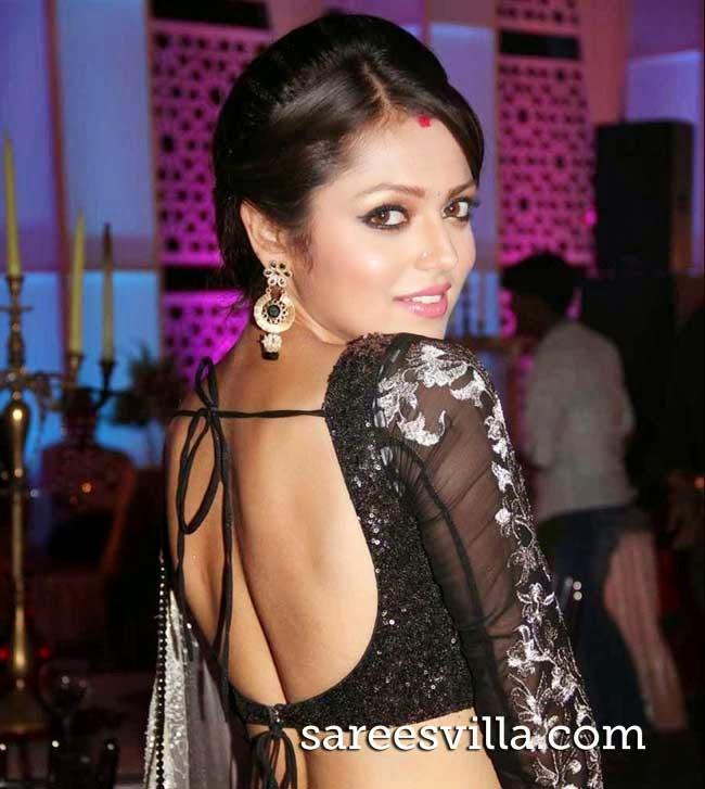 Drashti Dhami In Backless Blouse