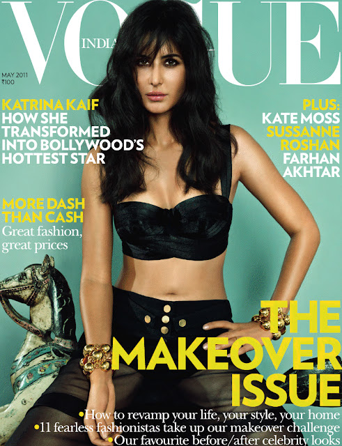 Beautiful Katrina Kaif Vogue Magazine Photoshoot - May 2011