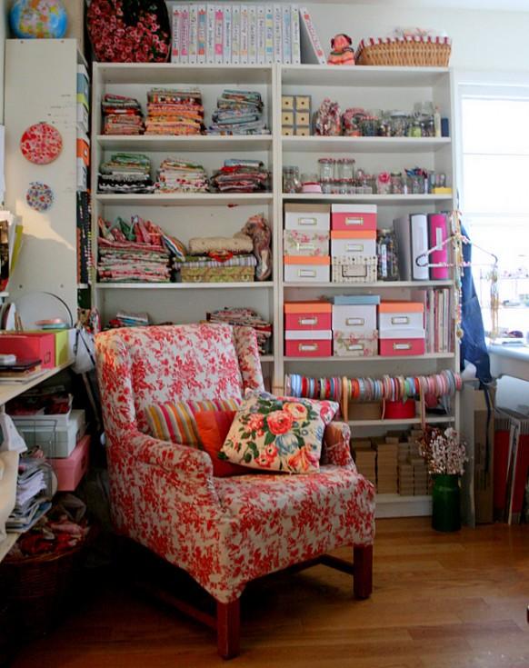10 X 10 Craft Room Ideas 582 x 735