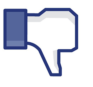 botão não curti facebook