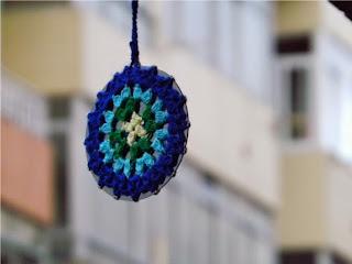 Mandala de ganchillo o crochet