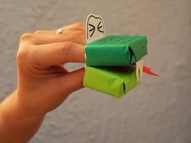 make a fun snake craft with kids