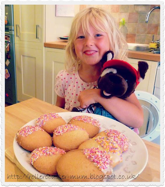 Florentine and Pig's yummy Rainbow Sprinkle Cookies