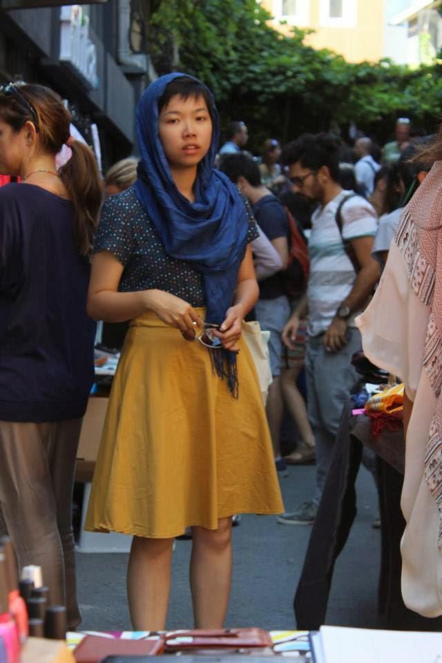 Sokak modası stil Kadın