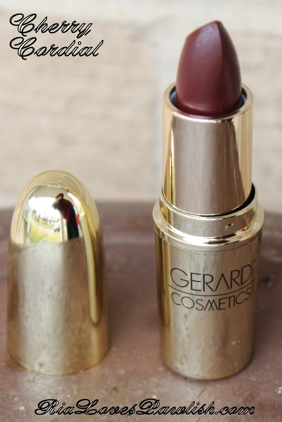 Ria Loves Pawlish: Gerard Cosmetics Nude Lipstick