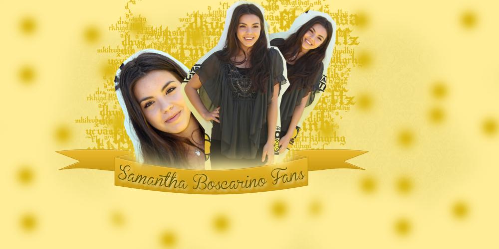 Samantha Boscarino Fans