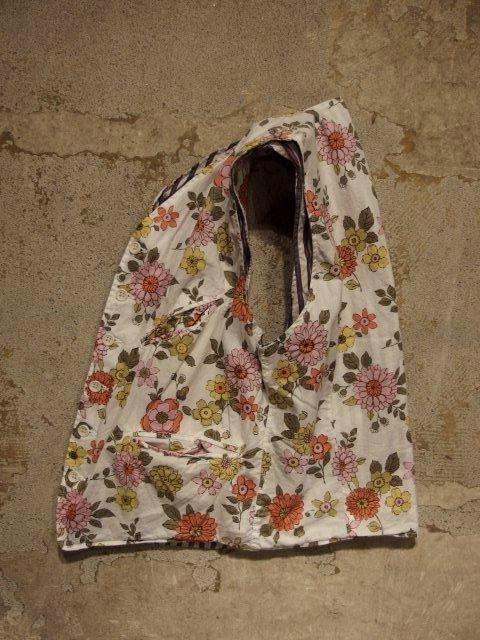 Engineered Garments Reversible Vest Floral Print Lawn Spring/Summer 2015 SUNRISE MARKET