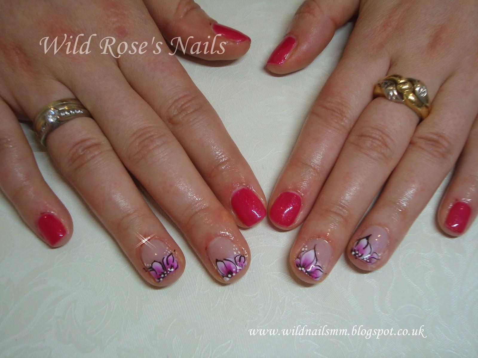Wild Rose\'s Nails: Bluesky A23