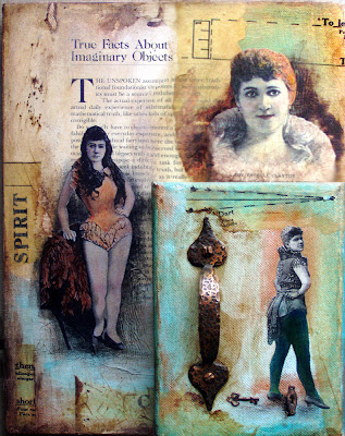assemblage, tutorial, how-to paint