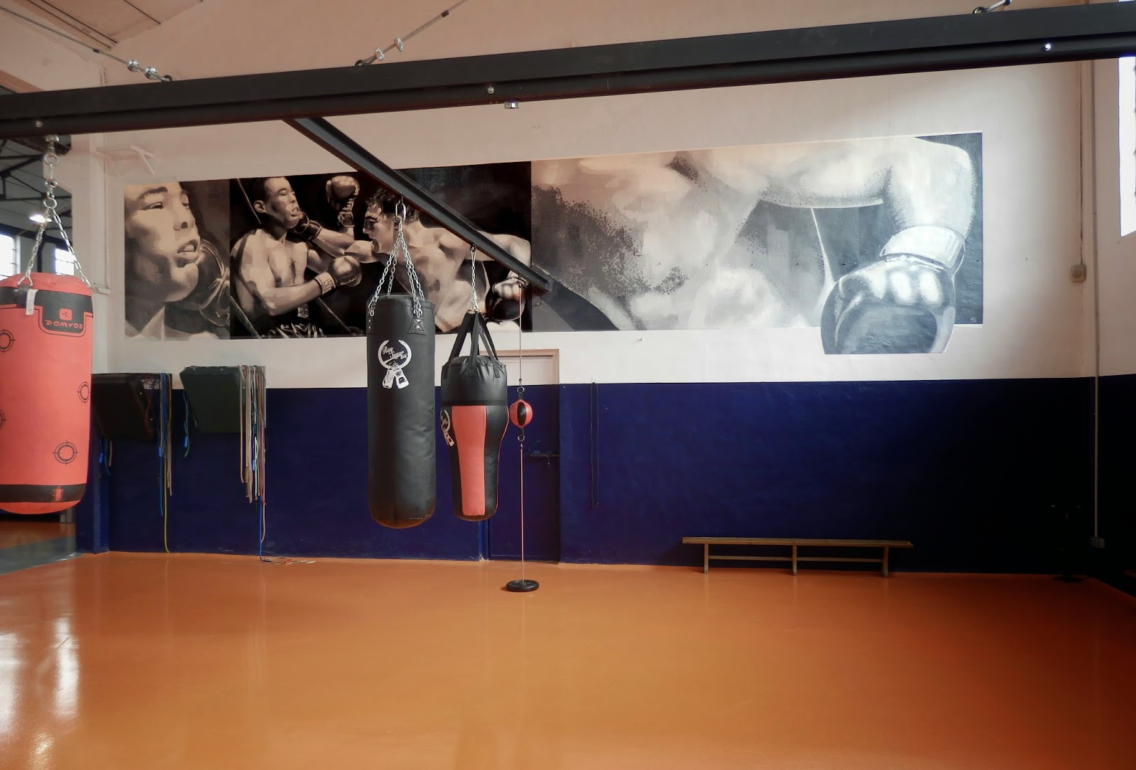 Fill in culture gimnasio gasteiz sport - Decoracion de gimnasios ...