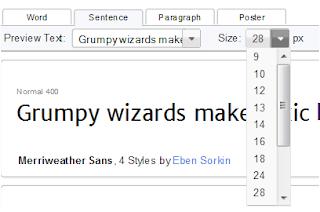 menambah dan mengganti model (style) huruf (font) di blog