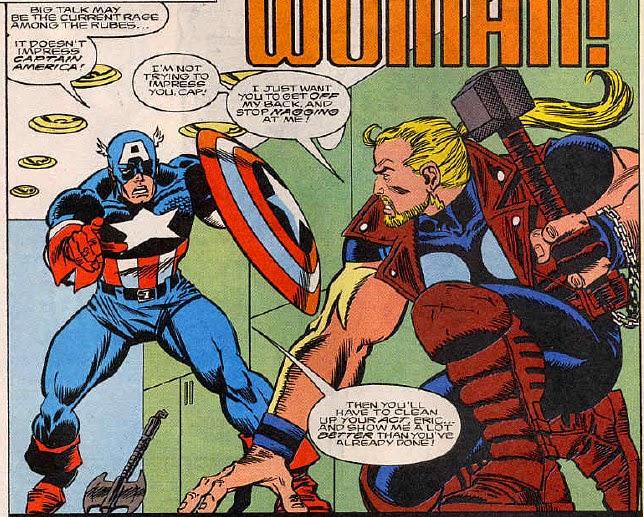 Thunderstrike 4 Captain America rubes
