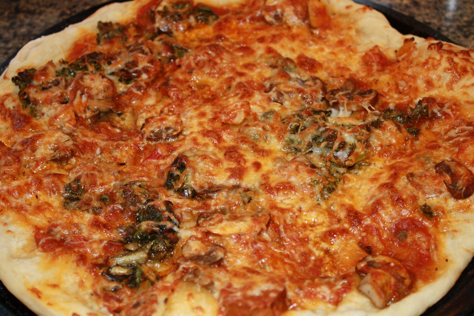 ... and Garden: Photos Of Pizza Made With Jim Lahey's No Knead Pizza Dough