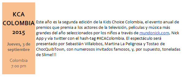 Nickelodeon-presenta-Host-nominados-Kids-Choice-Awards-Colombia-2015