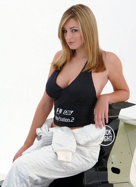 Celeb Model Keeley Hazell
