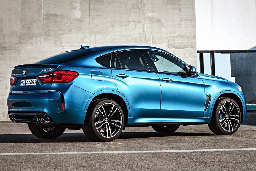 BMW X6 M (2015) Rear Side