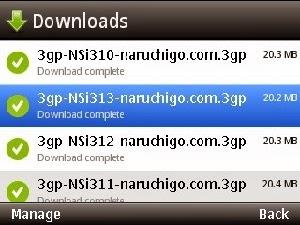 cara download ulang file gagal unduh di opera mini handler