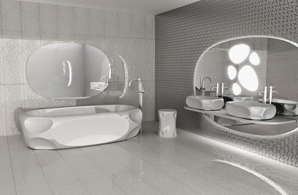 Et la salle de bain Meuble design japonais