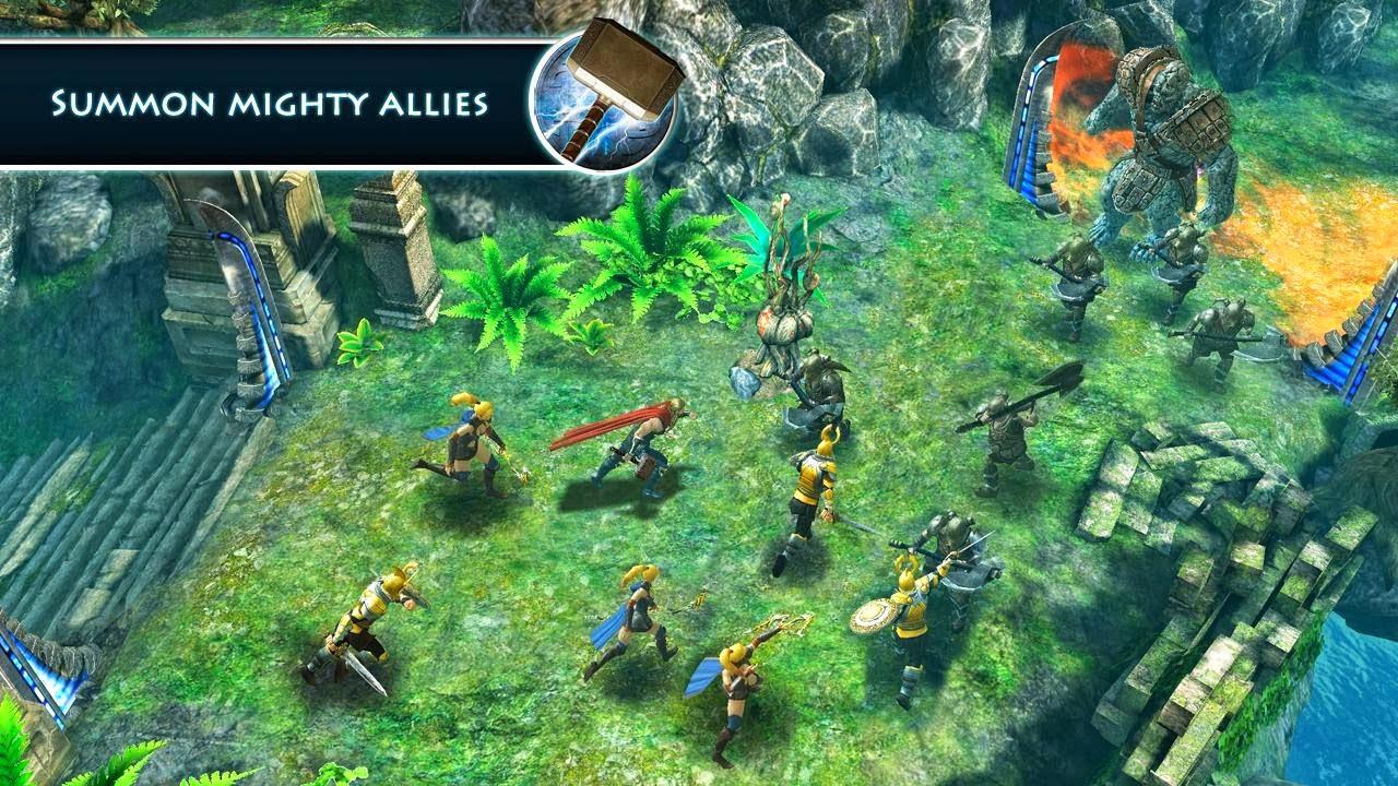 تحميل لعبة Thor: TDW - The Official Game الأسطورية للأندرويد مجاناً APK 1.2.0n