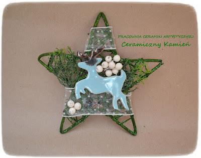 Dekoracje świąteczne z ceramiką