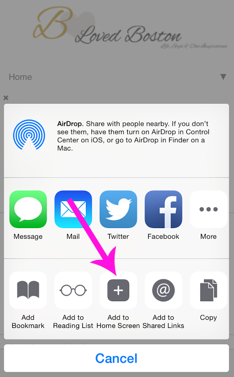 How To Create A Custom IOS Blog Icon