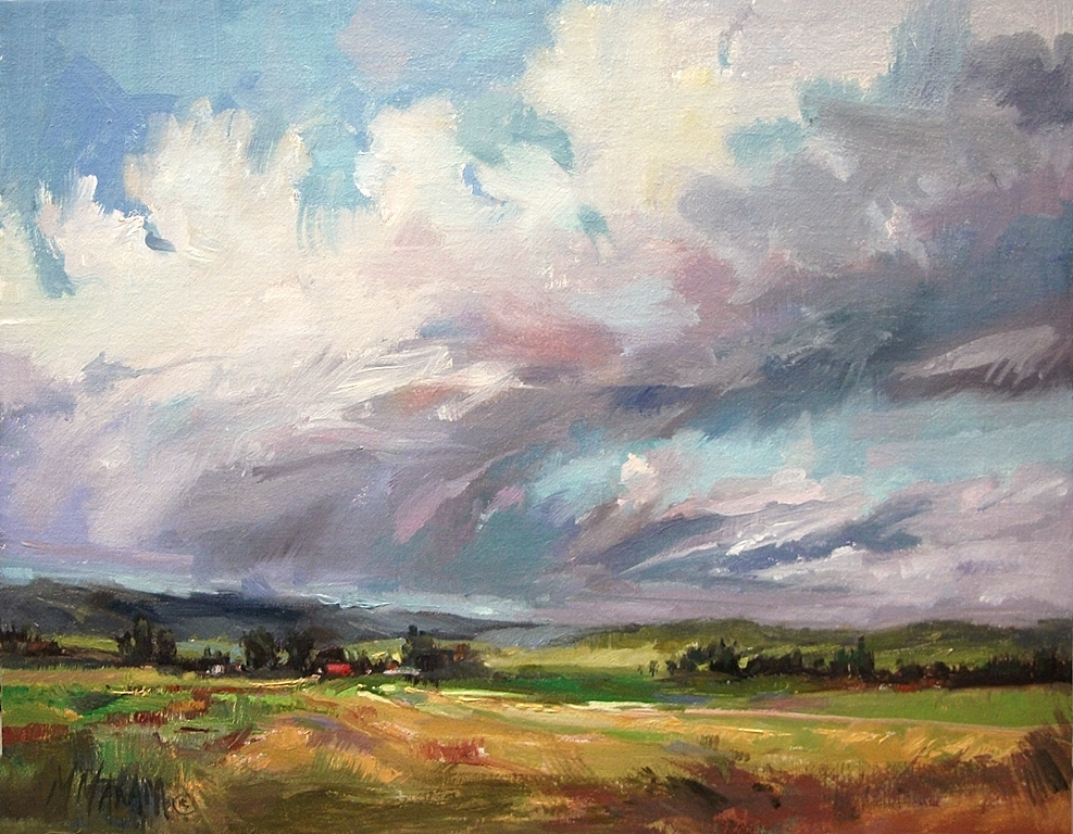 Step By Step Landscape Oil Painting