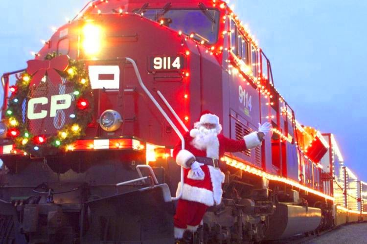 Pacific holiday train 2014