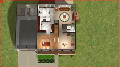 sims 2 lot downloads 2 story on basement