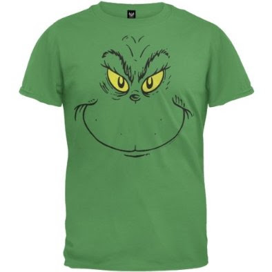 Grinch Face Template Grinch's oversized face!