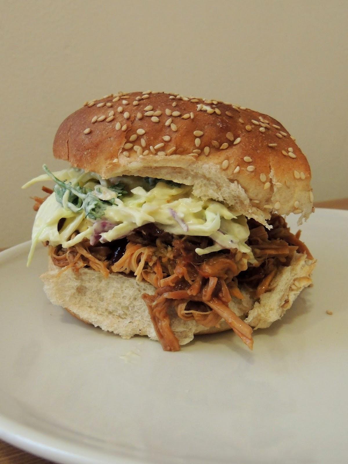 Gas Stove Girl: Dr. Pepper Crock-Pot Pulled Pork Sandwiches