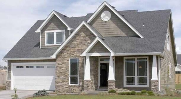 Fachadas de piedra frentes de casas con piedras y ladrillos for Frentes de casas con piedras