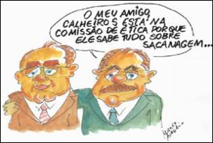 Crítica Política. Renan Calheiros no Conselho de Ética do Senado.
