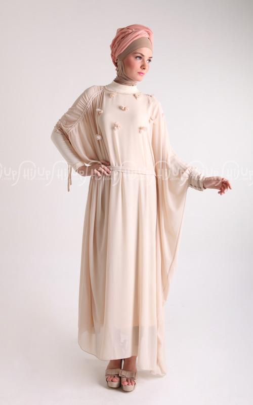 Model Gaun Atau Gamis Pesta Muslimah Modern 2014 Terbaru