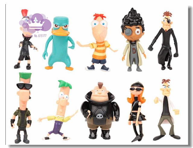 Jual Phineas & Ferb Action Figure