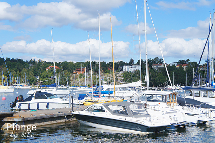 Harbor in Saltsjöbaden
