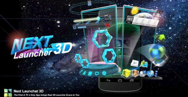 Next 3D Launcher v2.0 Apk full download