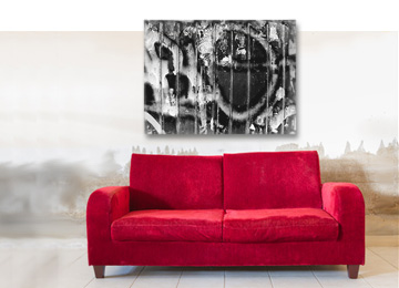 industrial, black and white, urban art, contemporary, abstract, female artist, limited edition,