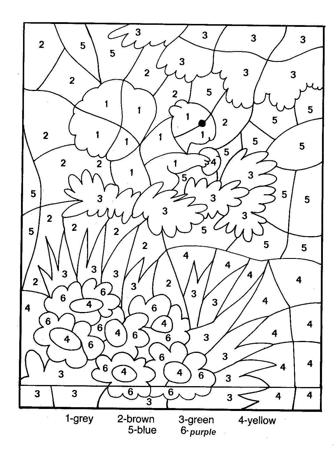 Coloriage magique GS et petite section gratuit à imprimer et colorier