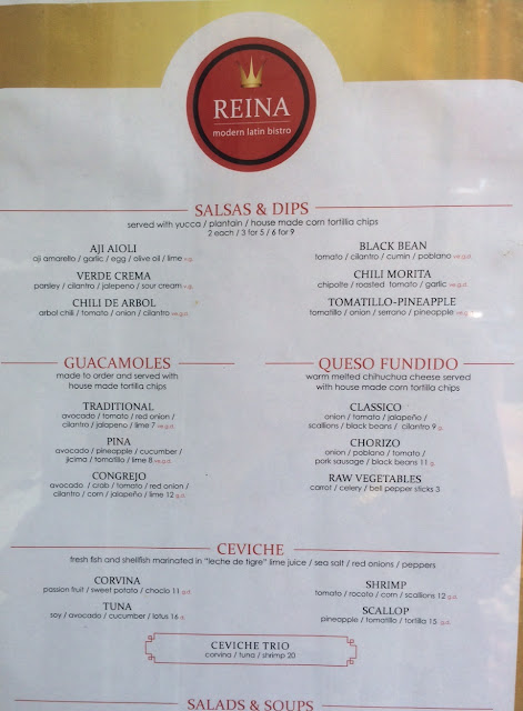 reina restaurant frederick maryland review menu
