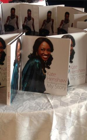 Kate Henshaw's  launched her Book  today Exclusive Photos ....