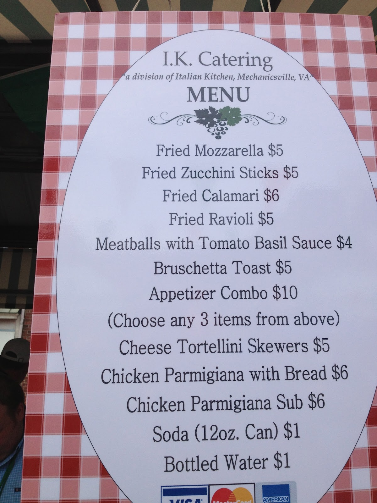 Food truck road trip 40 cities in 30 days september 2012 for Italian food list