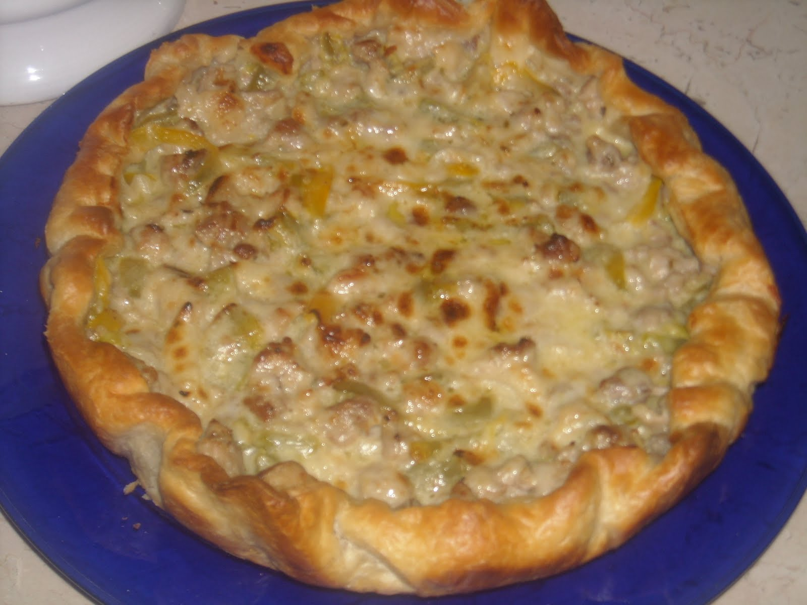Le ricette di lella e torta salata con peperoni for Ricette di torte