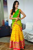Reetu varma sizzling in half saree-thumbnail-9