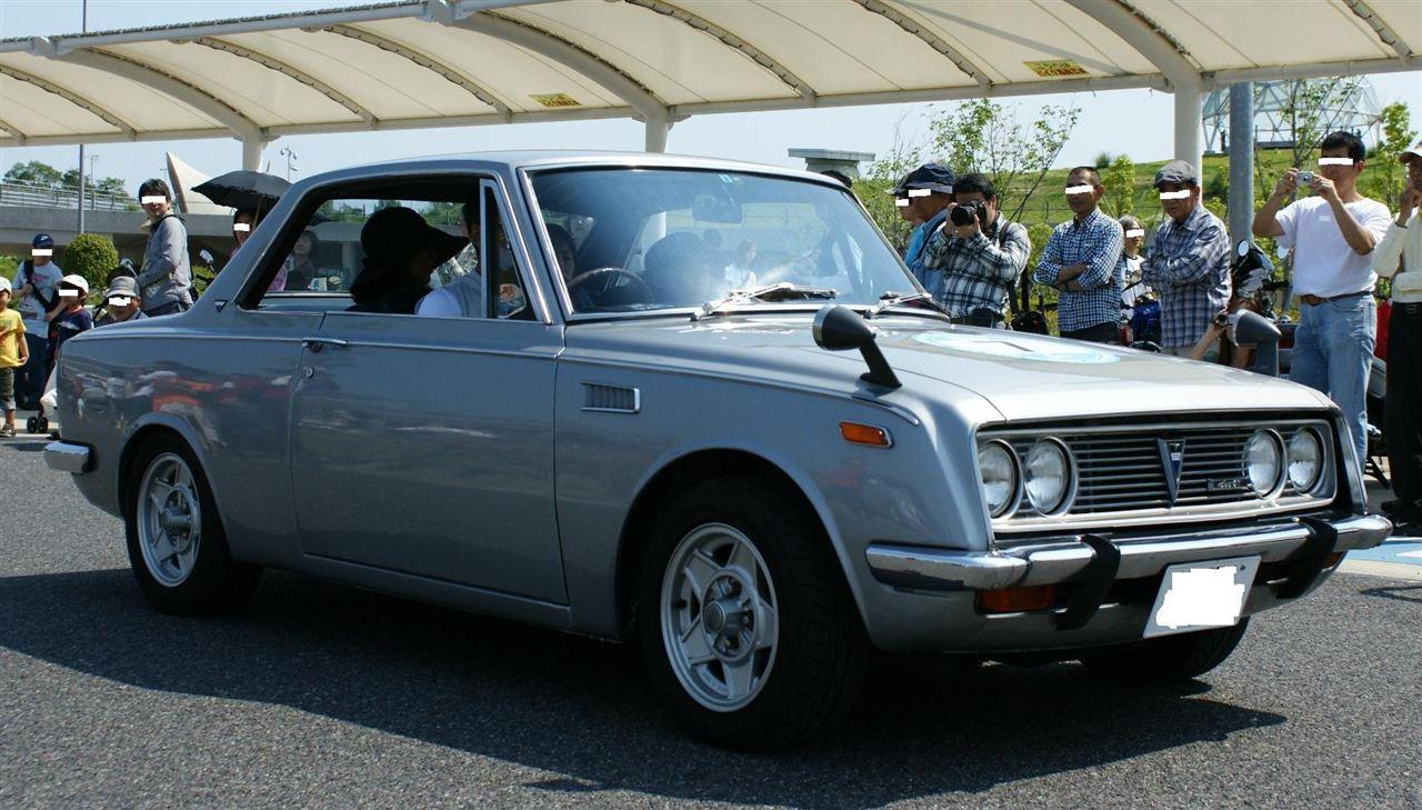 Toyota 1600GT stary japoński sportowy samochód, oldschool, klasyk