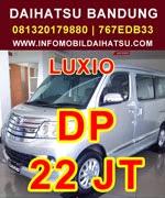 Promo Daihatsu Luxio 2015, DP Mobil Daihatsu Luxio, DP dan Angsuran Daihatsu Luxio