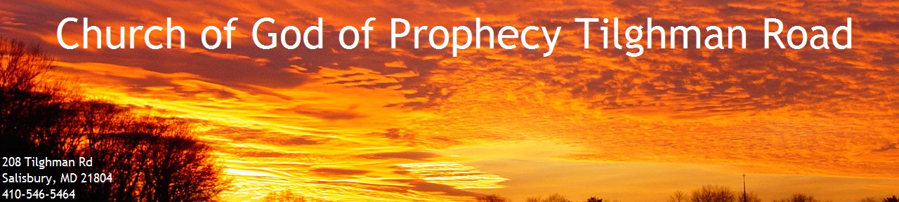 Church of God of Prophecy Tilghman Road